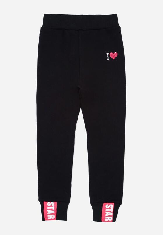 Granatowe Spodnie Cloverdale