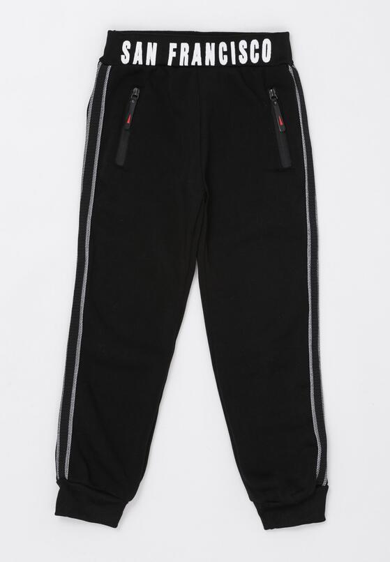 Czarne Spodnie Camillo