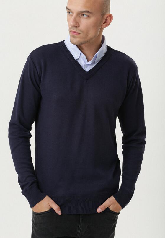 Granatowy Sweter Tivendale
