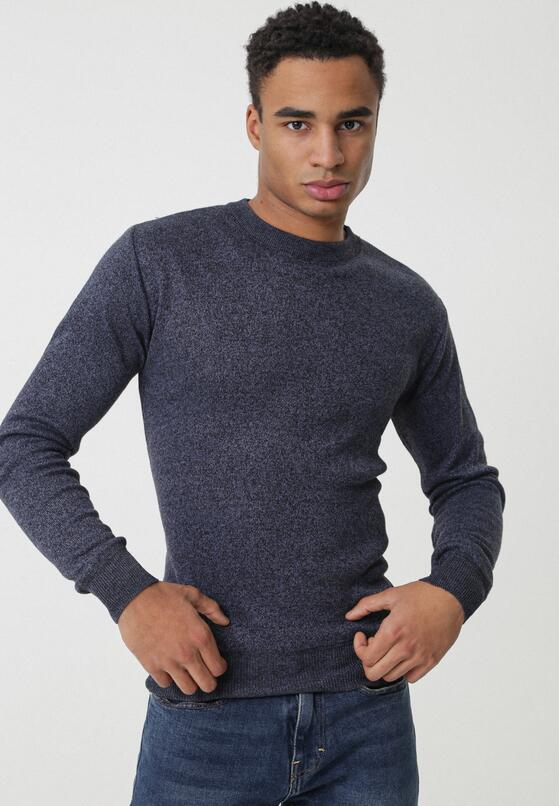 Ciemnoniebieski Sweter Torrens