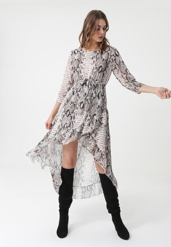 Beżowa Sukienka Cessnock