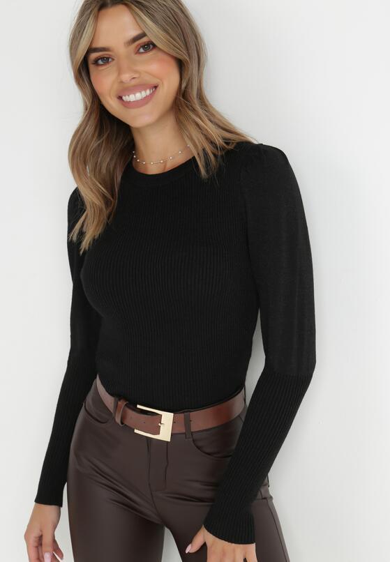 Czarny Sweter Warrane