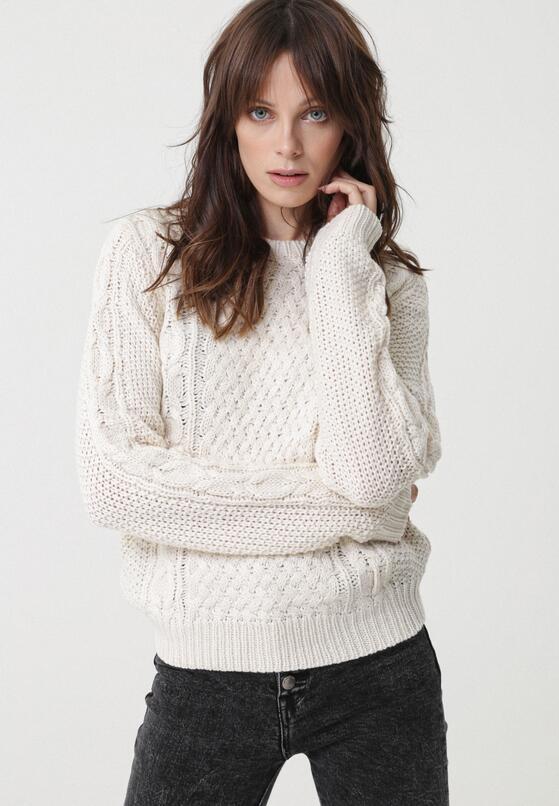 Kremowy Sweter Whitfield