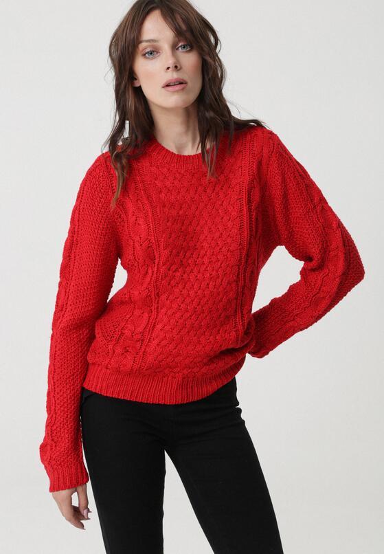 Czerwony Sweter Whitfield