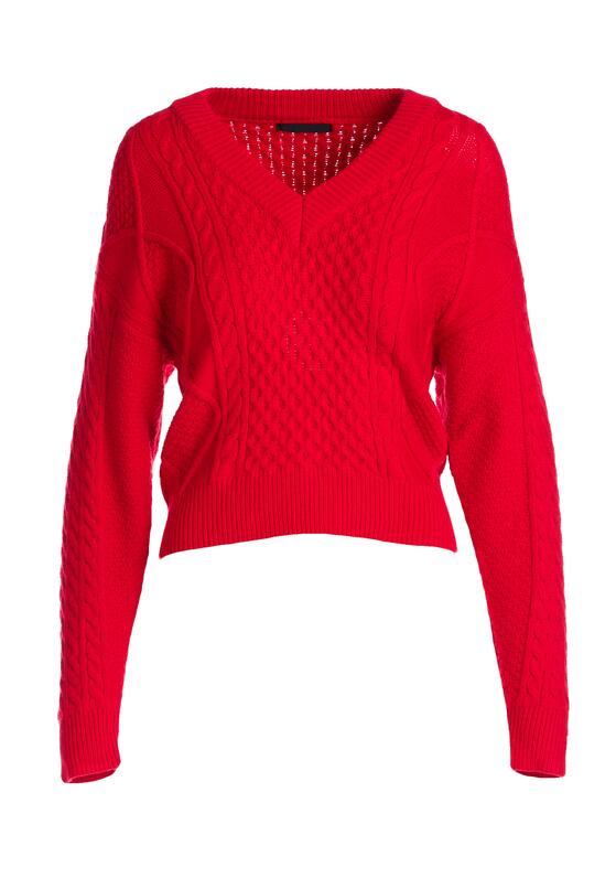 Czerwony Sweter Redlynch
