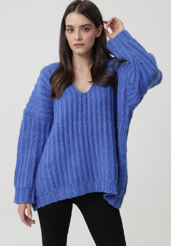 Niebieski Sweter Dudley