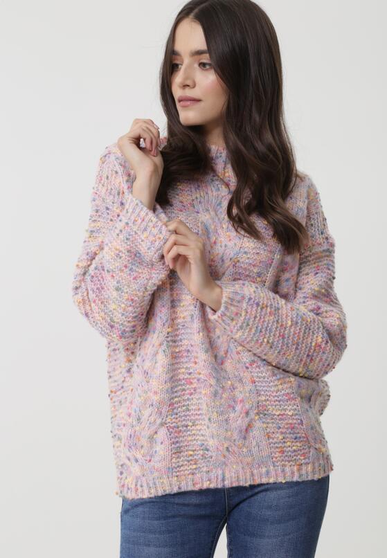 Różowy Sweter Benicia