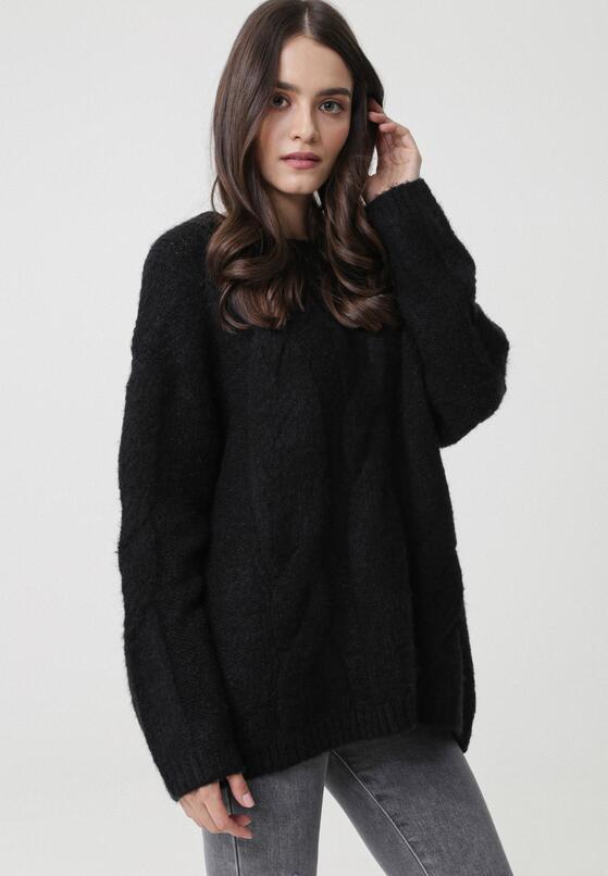 Czarny Sweter Marin