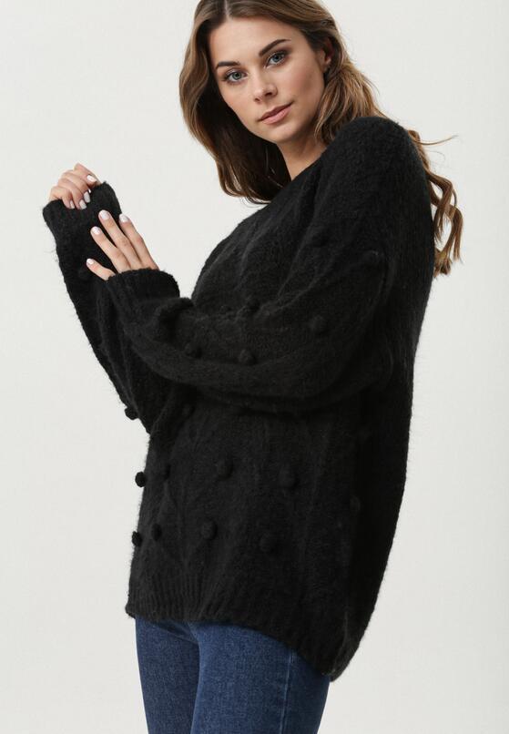 Czarny Sweter Burlingame