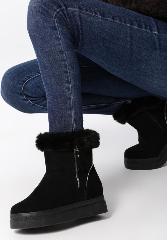 Czarne Śniegowce Merton