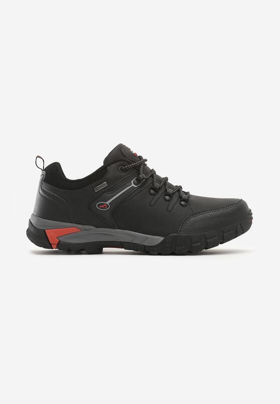 Czarno-Czerwone Buty Sportowe Merton
