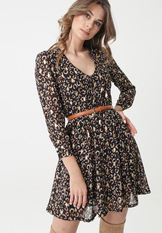 Granatowa Sukienka LaCrosse