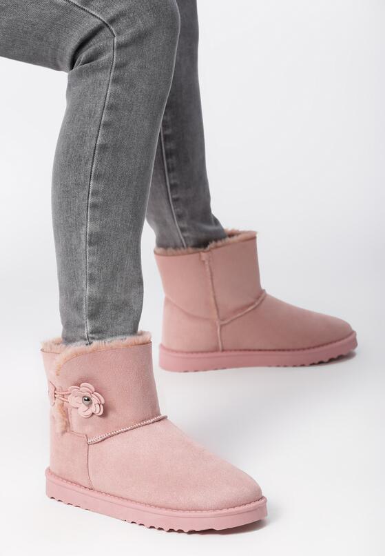 Różowe Śniegowce Betmar