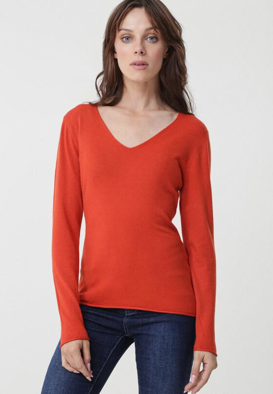 Pomarańczowy Sweter Morrilton