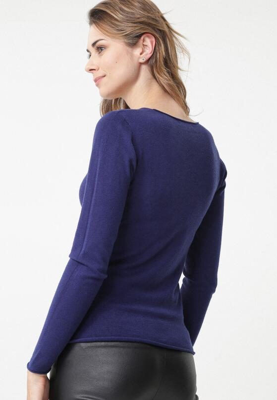 Granatowy Sweter Bungala