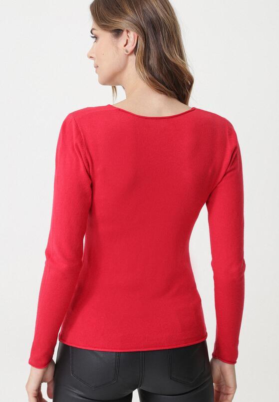 Czerwony Sweter Bungala