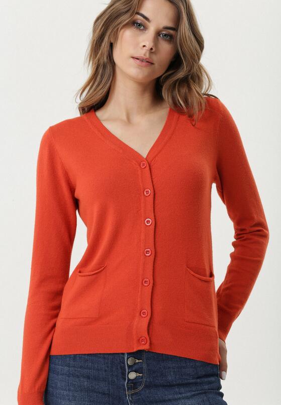 Pomarańczowy Sweter Jonesboro
