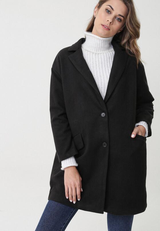 Czarny Płaszcz East Aurora