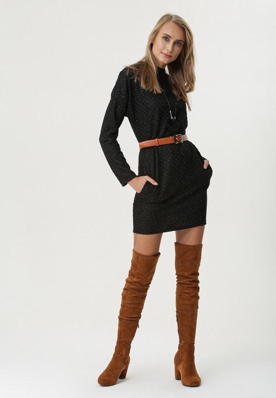 Czarna Sukienka Erne