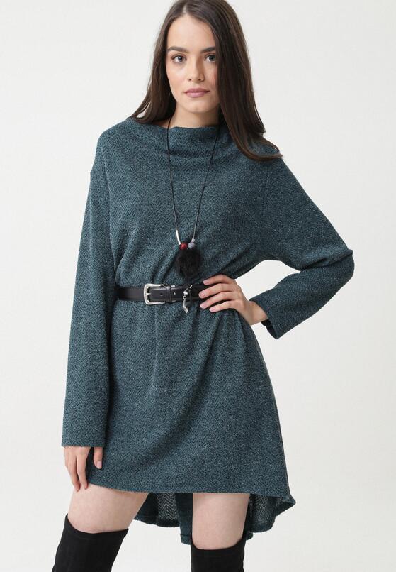 Zielona Sukienka Rideau