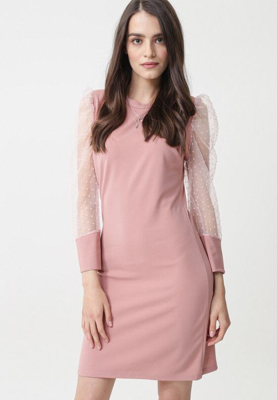 Różowa Sukienka Waipa