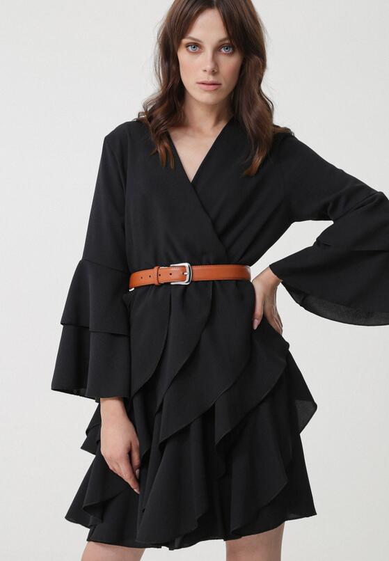 Czarna Sukienka Kaipara
