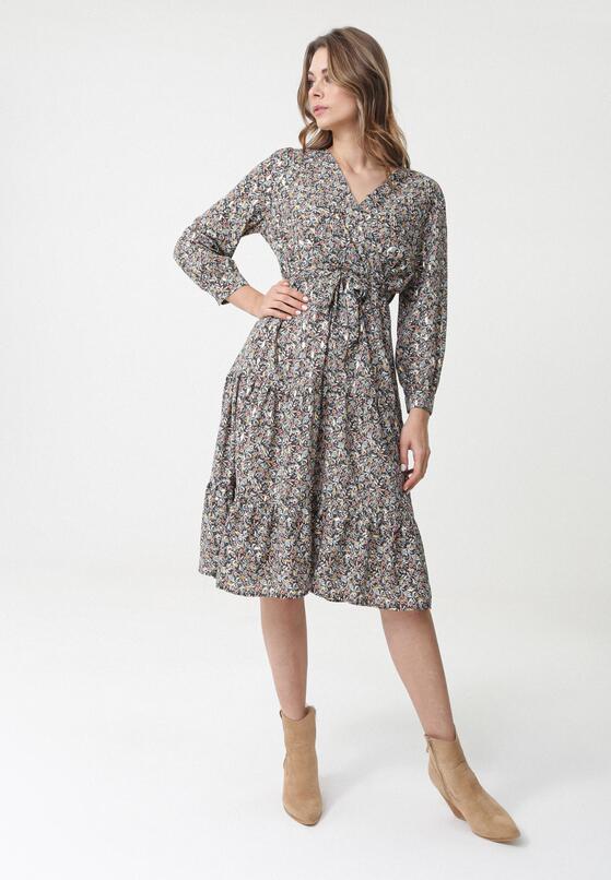 Miętowa Sukienka Alton
