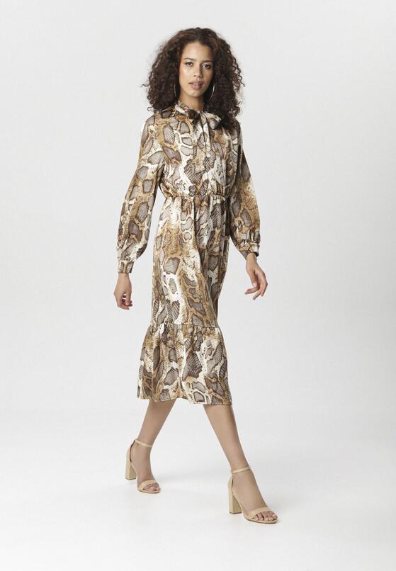 Beżowa Sukienka Eagledale