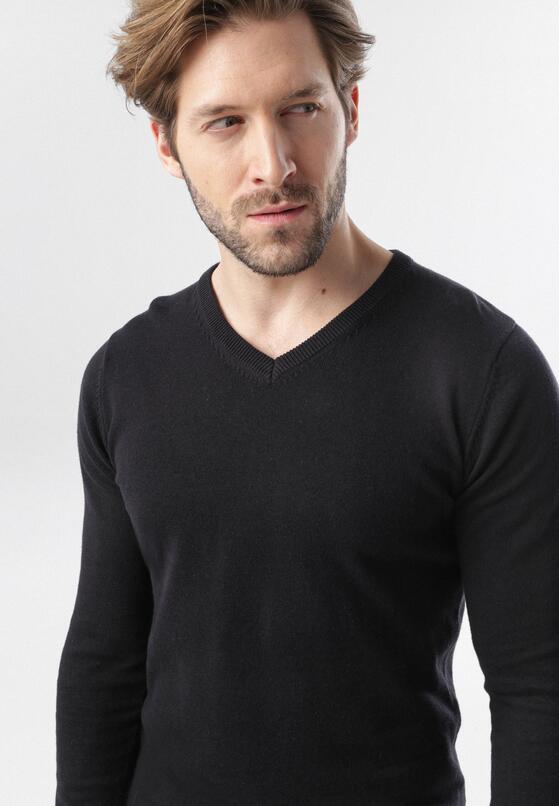 Granatowy Sweter Aldridge