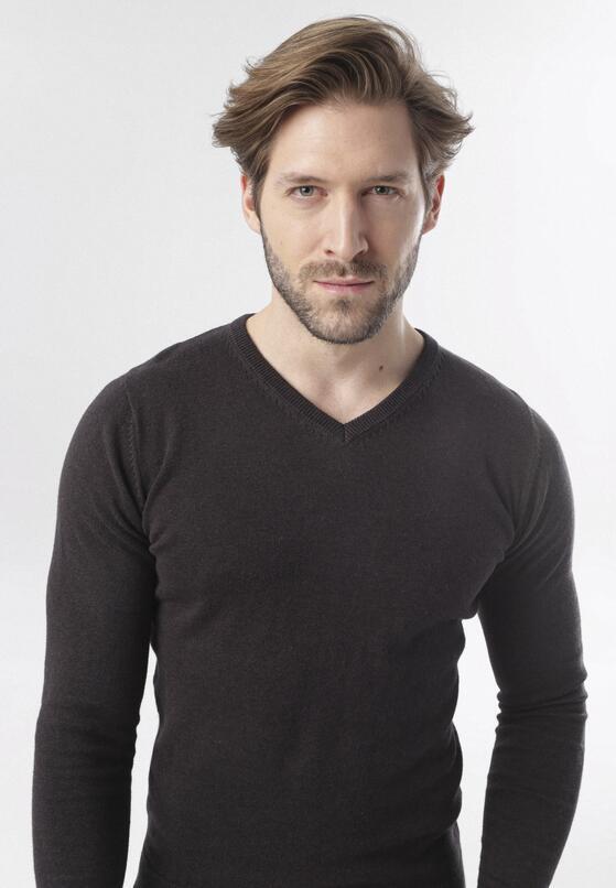 Ciemnobrązowy Sweter Aldridge