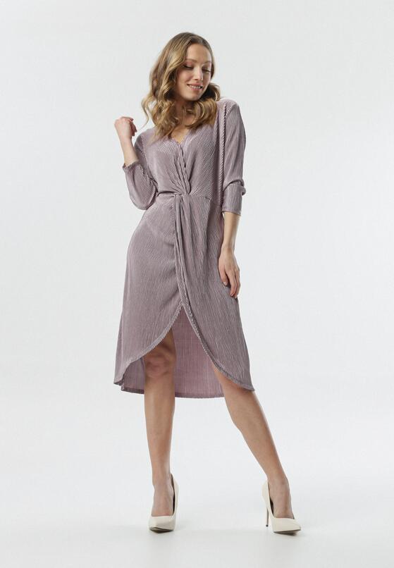 Różowa Sukienka Oyonnax
