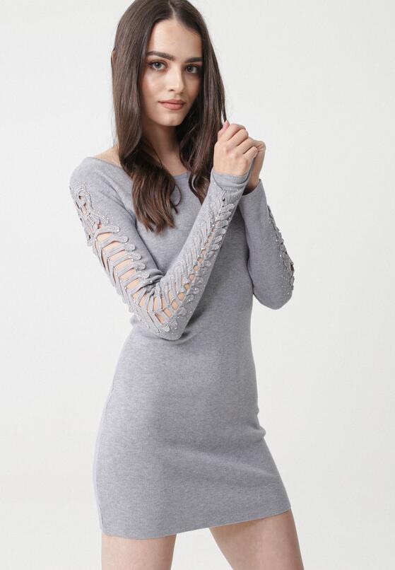 Szara Sukienka Nessa