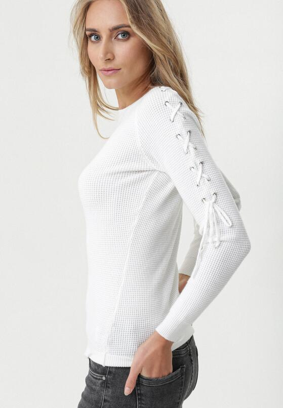 Biały Sweter Seagoville
