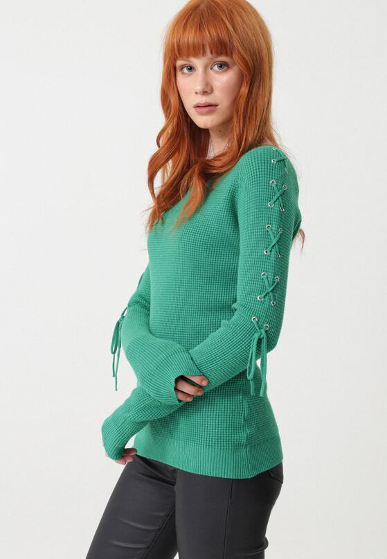 Zielony Sweter Seagoville