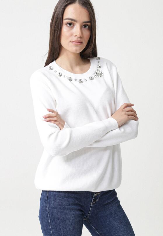 Biały Sweter Arriello