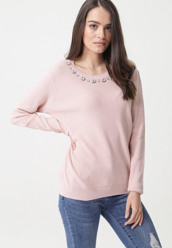 Różowy Sweter Arriello