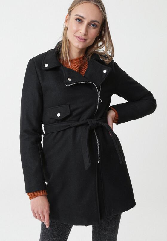 Czarny Płaszcz Joyla
