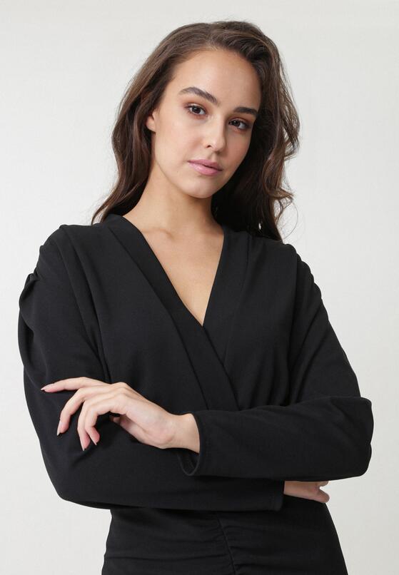 Czarna Sukienka Duosan