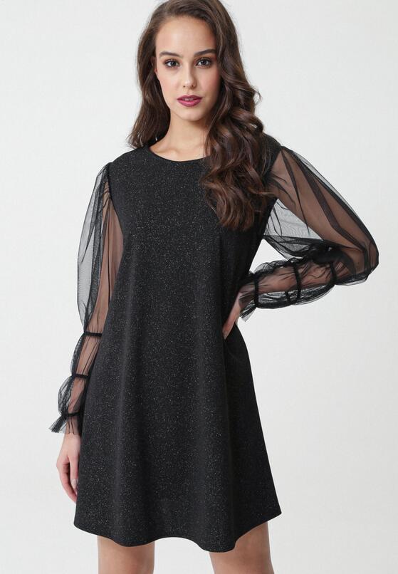 Czarna Sukienka Pineville