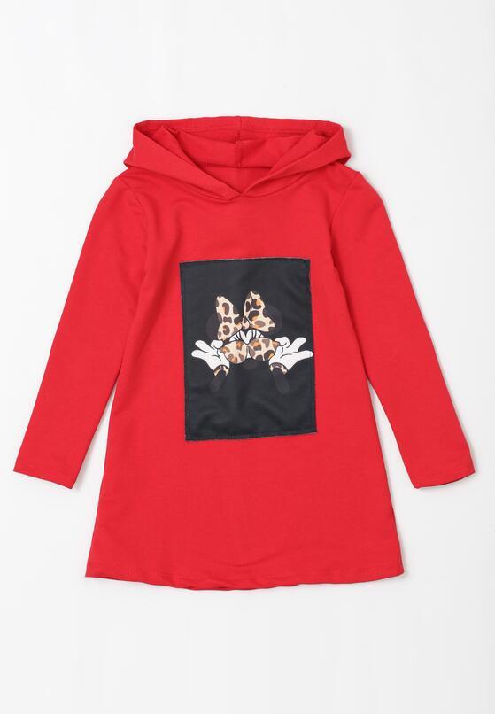 Czerwona Sukienka Crabtree