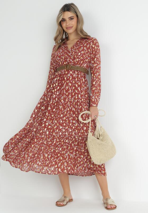 Łososiowa Sukienka Oakhurst