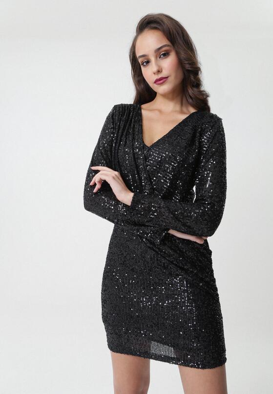 Czarna Sukienka Gashland