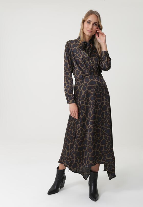 Ciemnozielona Sukienka Willingrial