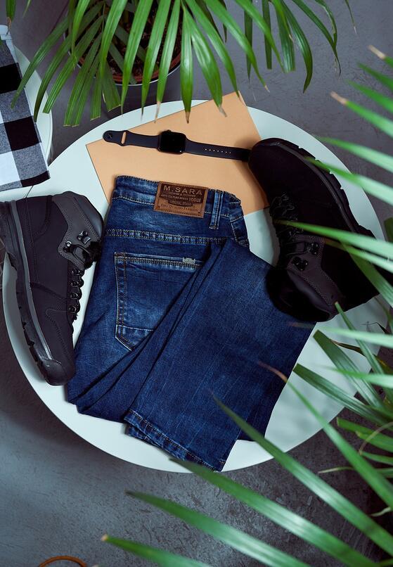 Niebieskie Jeansy Mariners