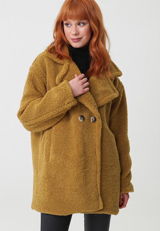 Camelowy Płaszcz Today I Decided