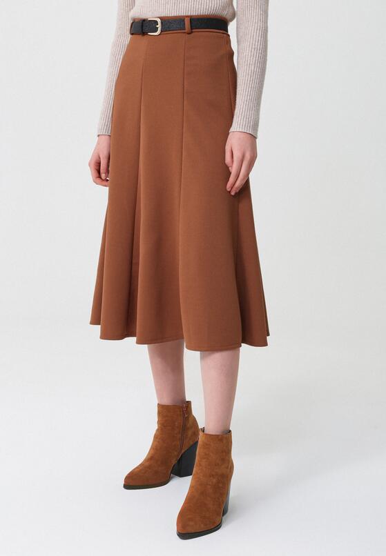 Brązowa Spódnica Marston