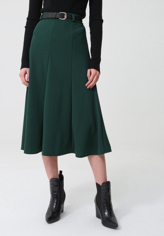 Ciemnozielona Spódnica Marston