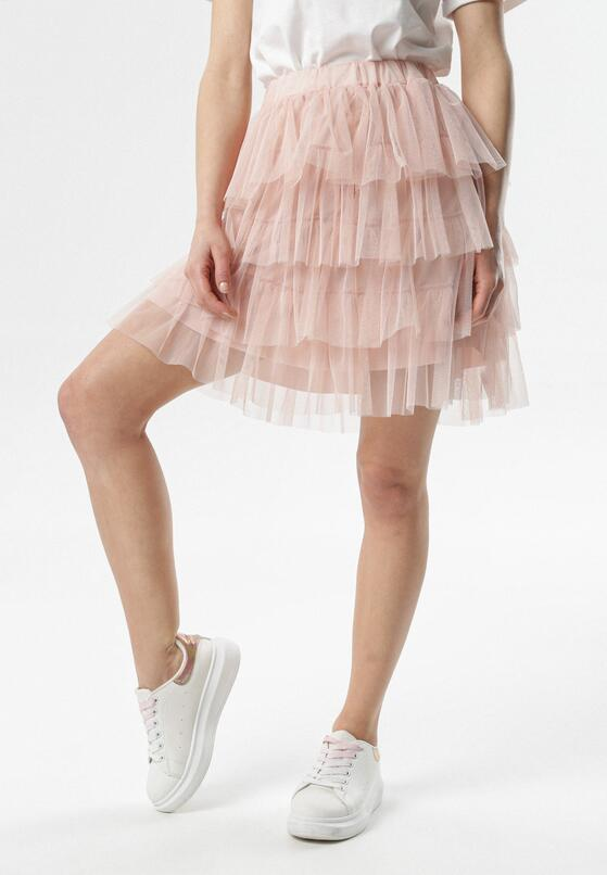 Różowa Spódnica Barney
