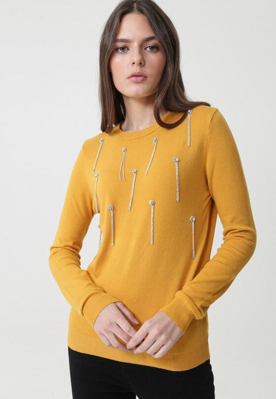 Żółty Sweter Dennis