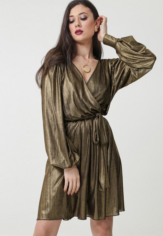 Złota Sukienka Blanchard